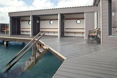 The hardwearing UPM ProFi composite products are ideal for outdoor applications such as pools and watersides.
