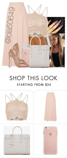 """""""Happy Mother's Day💖💖"""" by lola50649 ❤ liked on Polyvore featuring River Island, The Row, Yves Saint Laurent and Christian Louboutin"""
