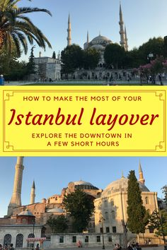 Istanbul is a major hub for flights passing through the Middle East. Here's how to make the most of an Istanbul layover and experience a little of the city. Istanbul layover | Istanbul travel | Turkey travel