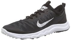 Nike FI Bermuda Spikeless Golf Shoes 2016 Ladies BlackWhite Medium 85 ** Check this awesome product by going to the link at the image. (This is an affiliate link) Spikeless Golf Shoes, Womens Golf Shoes, Sports Shoes, Shoes Women, Nike Golf, Nike Shoes, Sneakers Nike, Shoes 2016, Bermuda
