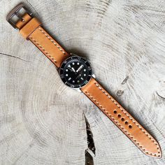 #watch #handcrafted #handmade #leather #leathergoods #strap #seiko #skx #skx031 #strapwatch by macgeek13 #tailrs