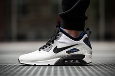 "Nike Air Max 90 Mid Winter Print ""Black/Gym Royal"""