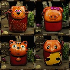 38.80$  Watch now - http://ai3f9.worlditems.win/all/product.php?id=32713908607 - Handmade leather messenger Bags cute colorful cat pig panda Koala shape handbag animal crossing cartoon zero wallet crafts