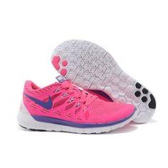 Nike Free 5.0 (Gs) Blau Pink