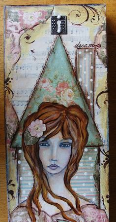 My Art Journal: mixed media collage