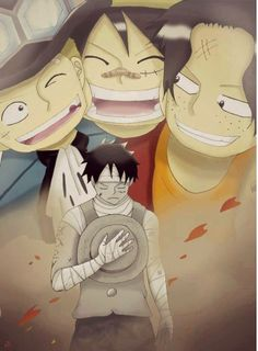 #Luffy #Sabo and #Ace