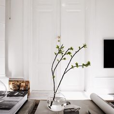 The stockholm pad of art director / photographer Sara Medina Lind.