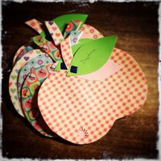 Birthday invitation Apple!