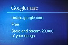 I'm on Google Music. Have 600+ songs there. However can only download 187 free tracks from Google Music, not the ones I uploaded. Can listen to all. They want you to buy. Not sure about that from Google for now. I already buy from Amazon and Apple.