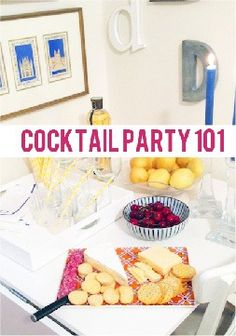 Host your own cocktail party!