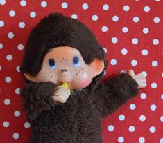 Collectible Vintage Thumb Sucking Doll Soft Toy by VintageToysForAll on Etsy Doll Toys, Dolls, Star Cards, Little Twin Stars, Look Alike, Baby Bottles, Compliments, 1970s, Hello Kitty