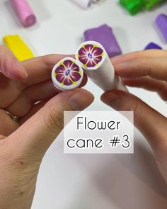 Diy Earrings Polymer Clay, Polymer Clay Canes, Cute Polymer Clay, Polymer Clay Miniatures, Polymer Clay Flowers, Fimo Clay, Polymer Clay Projects, Clay Crafts, Clay Design
