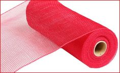10 yards of Red-deco mesh. It works great for deco mesh wreaths, bows, wrapping, crafts, and more. This deco mesh is water proof and durable. Mesh Bows, Deco Mesh Ribbon, Deco Mesh Wreaths, Wreath Crafts, Diy Wreath, Wreath Burlap, Wreath Ideas, Diy Crafts, Thanksgiving Mesh Wreath