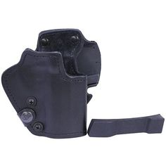 3 Layer Synthetic Leather Belt Holster - CZ 75D Compact, Black, Right Hand