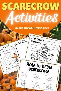 Free Scarecrow Printable Activities - Natural Beach Living