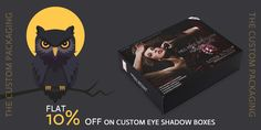 Order now and get flat 10% discount on your custom eye shadow boxes. book your order at 888-851-0765 or get a free custom quote. Custom Packaging, Box Packaging, Custom Eyes, Eye Shadow, Boxes, Quote, Flat, Prints, Eyeshadow