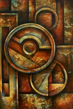 Geometric Painting - Omega Block by Michael Lang Geometric Painting, Geometric Art, Abstract Art, Block Painting, Canvas Art, Canvas Prints, Arte Popular, Art Pages, Fractal Art