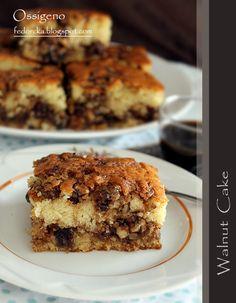 Baking Recipes, Cake Recipes, Dessert Recipes, Bulgarian Recipes, Bulgarian Food, Happy Birthday Cake Images, Cooking Bread, Walnut Cake, No Bake Cake