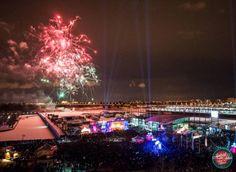 50 000 personnes au party du Jour de l'An @ Montréal