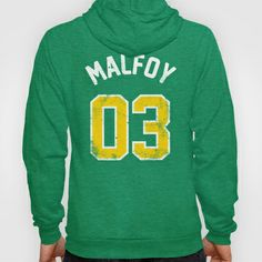 Draco Malfoy - Quidditch Number 03 Slytherin (Harry Potter) Hoody