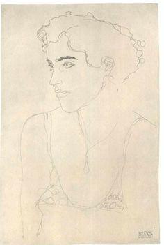 Category:Drawings by Gustav Klimt - Wikimedia Commons Gustav Klimt, Klimt Art, Figure Drawing, Painting & Drawing, Drawing Sketches, Art Drawings, Art Nouveau, Art Graphique, Artist Art