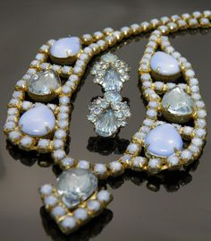 Vintage Juliana Style Necklace And by VintagePresentations on Etsy, $76.00