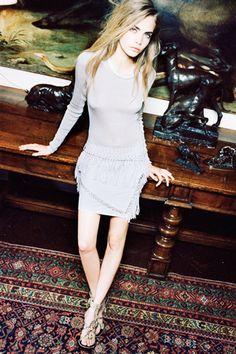 Cara Delevigne by Quentin de Briey for Vogue Spain