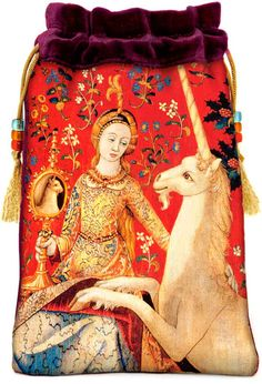 The Lady and the Unicorn Medieval tapestry by BabaStudioPrague,