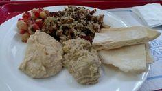 Comida árabe vegetariana
