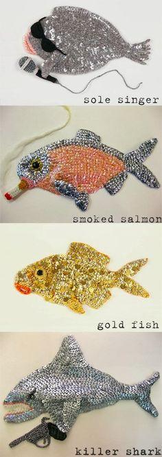 Fishy Friday Project by Kate Jenkins! http://knuffelsalacarteblog.blogspot.nl/