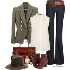 """""""Autumn Tones"""" by archimedes16 on Polyvore"""