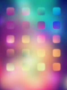 Blue, pink, green, mini iPad