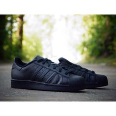ADIDAS SUPERSTAR FOUNDATION J B25724 Adidas Superstar, All Black Sneakers, Foundation, Shoes, Fashion, Moda, Zapatos, Shoes Outlet, Fashion Styles