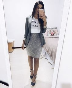 Swans Style is the top online fashion store for women. Shop sexy club dresses, jeans, shoes, bodysuits, skirts and more. Modest Clothing, Modest Dresses, Modest Outfits, Skirt Outfits, Trendy Outfits, Cute Outfits, Modest Wear, Work Outfits, Work Fashion