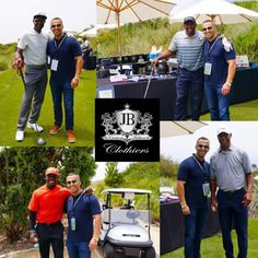 Having some fun at the Tim Brown 911 for Kids Celebrity Golf Classic with Reggie Bush, Marcus Allen, Tim Brown, & Jerry Rice. No big deal! Just spending the day with NFL Hall Of Famers and helping raise money for a great cause. . #golf⛳️ #golfcourse #golflifestyle #911foundation #911 #foundation #kids #children #love #family #suits #fashion