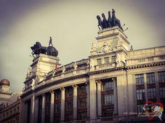 Daytrip to rainy Madrid, Spain.