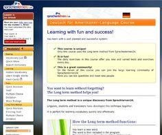 Deutsch lernen für Amerikaner in dieser Software sind das Menü und alle Anleitungen und Erklärungen auf Amerikanisch auch als Download plus Online Kurs