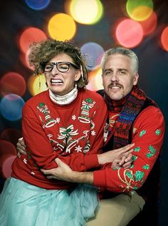 Craigclement.com Funny Family Christmas Card Photo | ugly sweaters ...