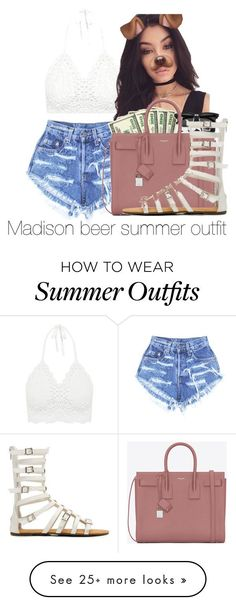"Summer Outfits : ""Madison beer summer outfit"" by diamondfoster919 on Polyvore featuring"