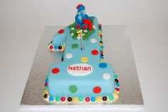 "Sure to be an absolute winner with all the ""In the Night Garden"" fans - the Iggle Piggle cake - from £50."