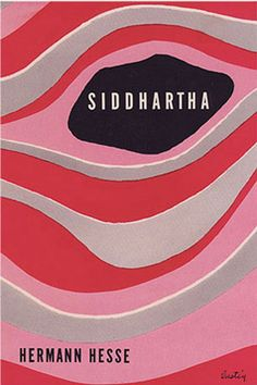 Siddhartha by Hermann Hesse, cover design by Alvin Lustig