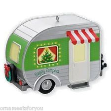 Hallmark 2010 Happy Campers Ornament