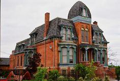 Brush park Detroit 1900 homes   ... Restored 1880s home in Brush Park neighborhood