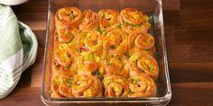 Best Breakfast Pinwheel Recipe - How to Make Breakfast Pinwheels How To Make Breakfast, Breakfast Time, Best Breakfast, Breakfast Muffins, Brunch Recipes, Breakfast Recipes, Breakfast Ideas, Breakfast Sandwiches, Brunch Ideas