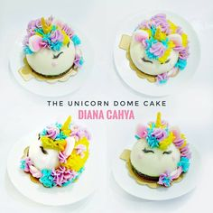 "63 Likes, 1 Comments - Diana Cahya (@din2902) on Instagram: ""Still love it! . . #DianaCahya #DianaCahyaEffect #DomeCake #Unicorn #UnicornDomeCake…"""