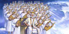 Jesús y quienes gobiernan con él desde los cielos