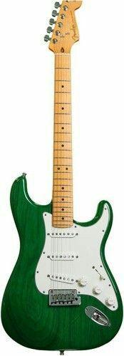Fender Custom Shop Custom Special Trans Ash Stratocaster - Emerald Green