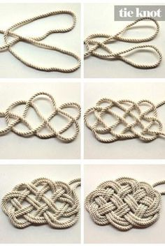 DIY Tutorial: DIY Nautical Rope / DIY Nautical Rope Necklace - Bead&Cord