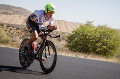 Serghei Tvetcov takes the ITT on stage 3 of the men's Tour of the Gila