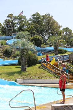 Add Some Slip And Slide To Your Day At Holden Beach S Waterslide This Type Of Water Fun Will Thrill Children Pas Grandpas Alike